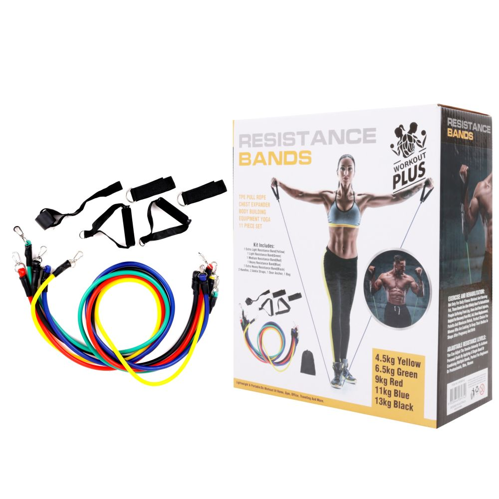 273003 Resistance Band 11pc 2