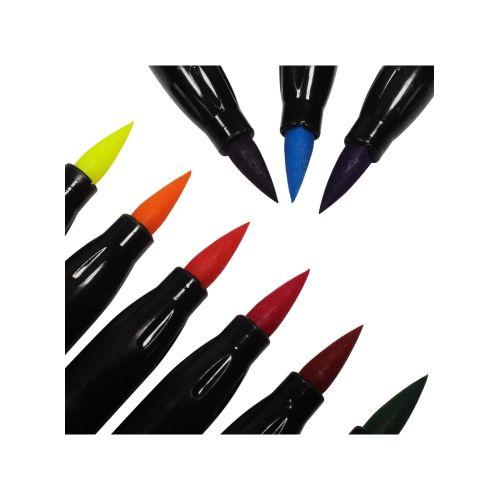 981016 Colouring Brush Markers 12pk1