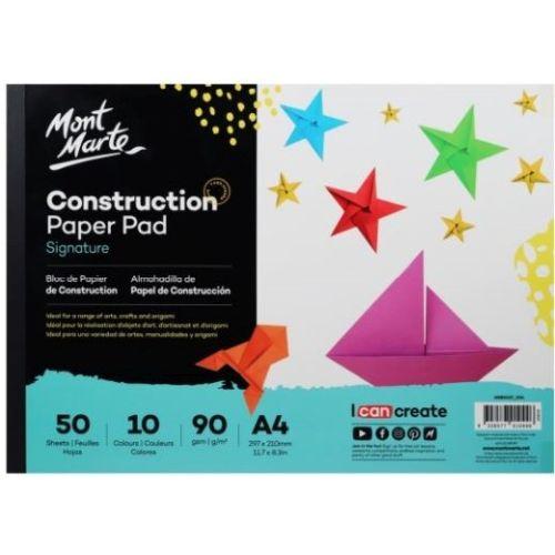 981132 Mont Marte Construct Paper A4 50 Sheet